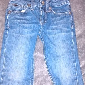 Size 2t Joe's jeans with skull buttons